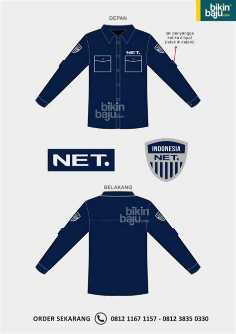 5420 Baju Kemeja Pria Lengan Panjang Simple Blue Soft mengapa desain seragam net tv sangat diminati