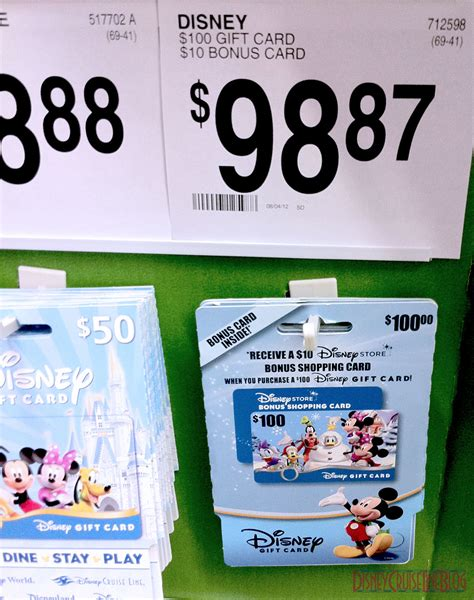 What Can You Use Disney Gift Cards On - money saver 100 disney gift cards with a bonus 10 gift card at sam s club for 99