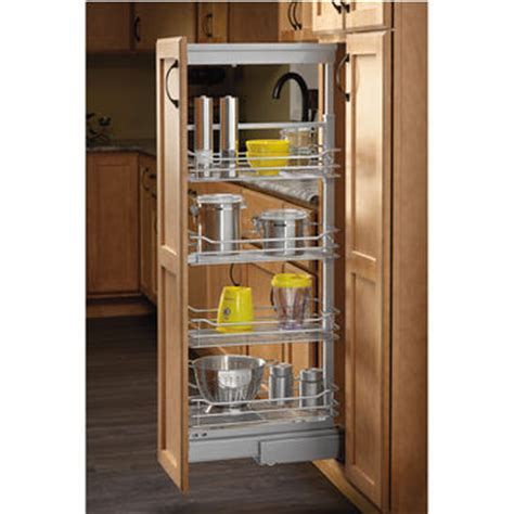 Rv Pantry by Rev A Shelf Soft Chrome Pullout Pantry With