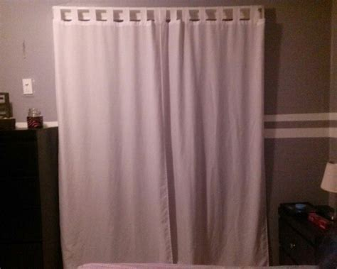 Don T Have Closet Doors Use Curtains Instead Buying Shower Curtain For Closet Door