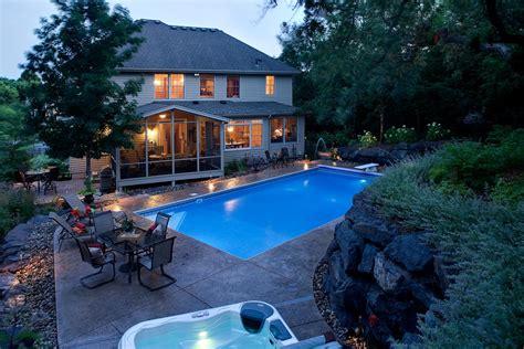 Backyard Pools Mn Swimming Pool Landscape In Eagan Mn Southview Design