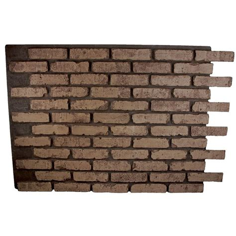 adorable 20 faux brick wall panels home depot design