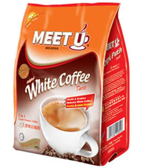 Meet U White Coffee meet u 3 in 1 white coffee tarik white coffee market malaysia