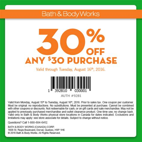 printable restaurant coupons calgary bath body works 30 off any 30 purchase coupon aug 15
