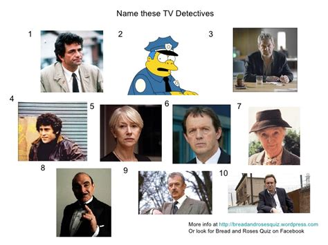 film and tv quiz rounds tv detectives picture quiz