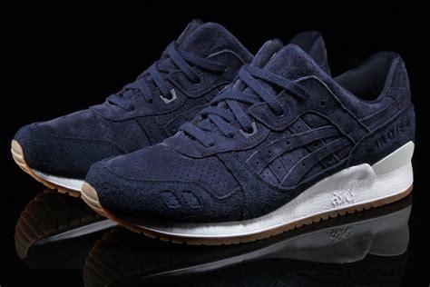 Asics Tiger Gel Lyte Iii Navy Gum asics gel lyte iii suede pack with gum soles sneakers cartel