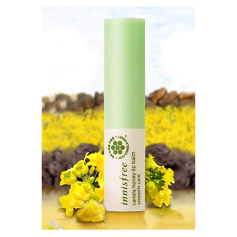 Innisfree Honey Lip Balm 3 5g innisfree canola honey lip balm smooth care 3 5g ebay
