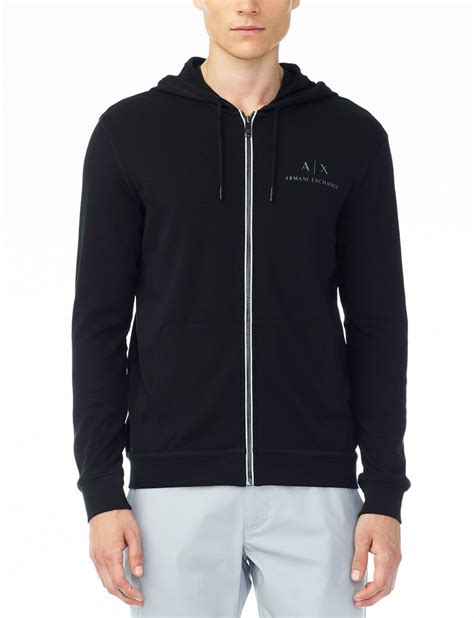 Sweater Pria Fleece Jaket Zipper Hoodie Distro Infcl Eklusif armani exchange signature logo hoodie fleece jacket for a x store