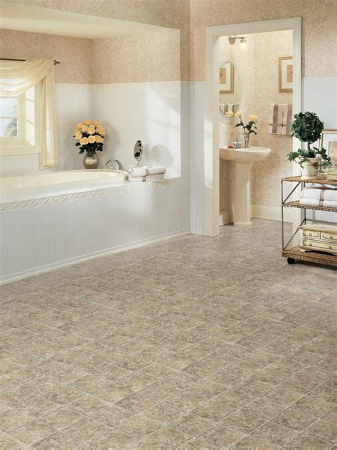 vinyl bathroom floor tiles decor ideasdecor ideas vinyl bathroom floors hgtv