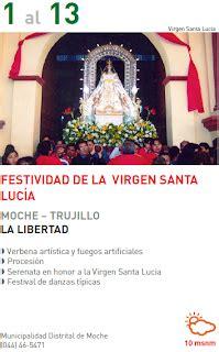 del 07 de diciembre al 13 de diciembre del 2015 del 01 al 13 de diciembre festividad de la virgen santo