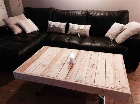 Tables Basses En Palettes by Table Basse En Palettes Pallet Coffee Table 1001 Pallets