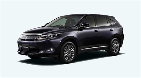 toyota harrier 2012 2014 toyota harrier first photos released autoevolution