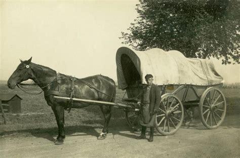 pferd und wagen 1950 bauer todt mit pferd und wagen in schafstedt