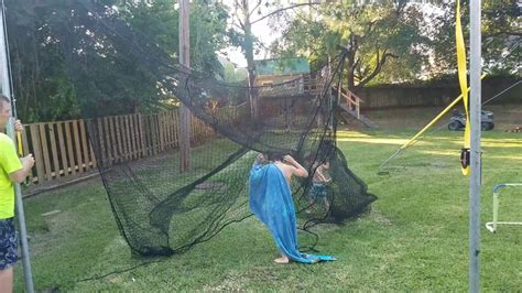 cheap backyard batting cages diy batting cage doovi