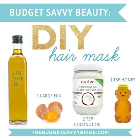 diy hair mask diy hair mask the budget savvy bride