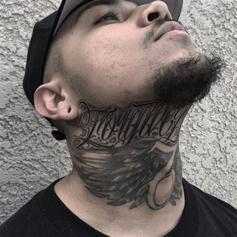 neck tattoos for men designs 75 best neck tattoos for and designs