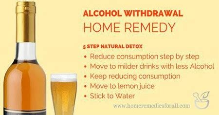 Home Detox From by Home Remedies For Withdrawal Detox