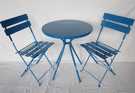 Folding Bistro Table Metal Metal Folding Bistro Table Set View Metal Folding Bistro Table Set Jm Product Details From
