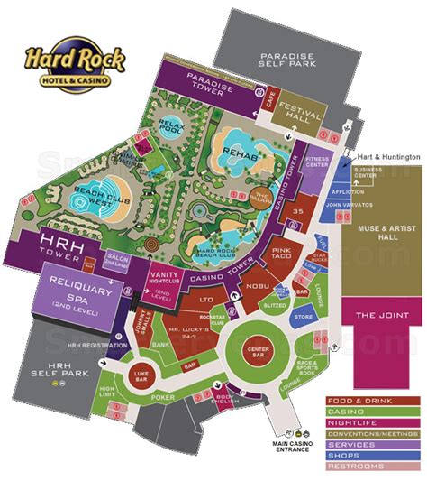red rock casino floor plan red rock casino floor plan hard rock casino property map