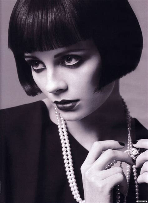 louise brooks haircut cinema connection louise brooks bobs her hair and so