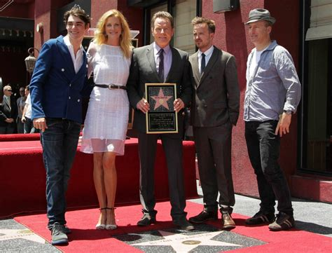 bryan cranston rj mitte aaron paul picture 67 bryan cranston honored with star