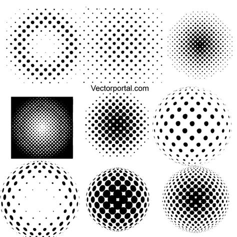 illustrator pattern dots free halftone illustrator symbols download at vectorportal