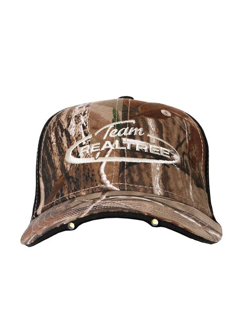 hats with lights in visor team realtree camo hat with led lights in visor
