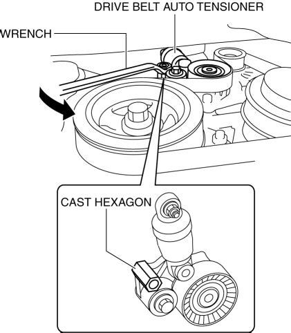 mazda cx 5 service repair manual drive belt removal