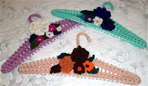 pattern for covering clothes hangers crochet covered hanger pattern free crochet patterns