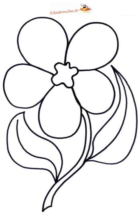 fiore disegno disegni da colorare di fiori fare di una mosca