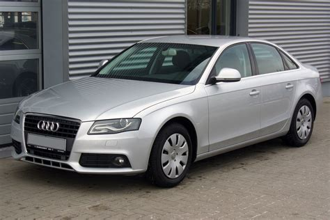 Audi A4 Ambiente by Datei Audi A4 B8 Limousine Ambiente 2 0 Tdi Eissilber Jpg