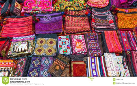 Handmade Thailand - handmade bags in thailand royalty free stock image image