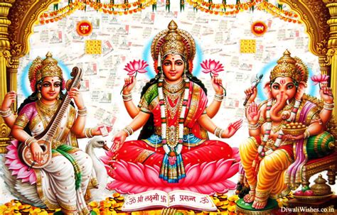 happy diwali god wallpaper wishes images ganesh laxmi