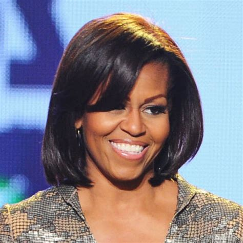 how foes michelle obama get straight hair michelle obama 2013 medium straight hair bakuland