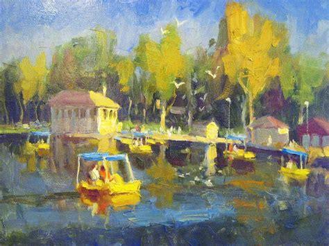 paddle boats washington park denver arts at denver gallery artist ken valastro