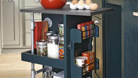 how to build a kitchen island cart make a kitchen storage cart