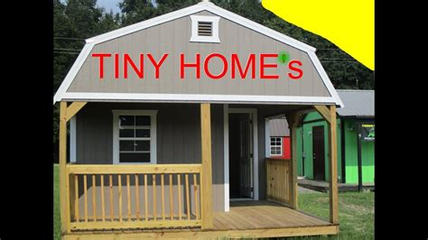 tiny home  home depot  shed barn