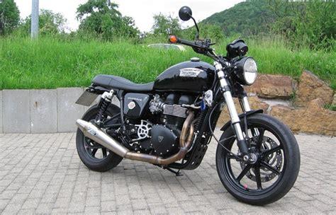Motorrad Umbau Riemenantrieb by Umgebautes Motorrad Triumph Bonneville Se Sbf Triumph