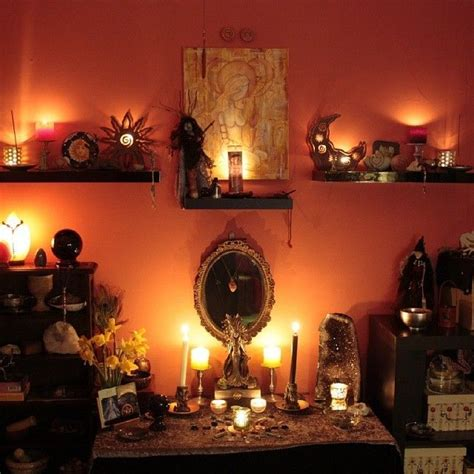 25 best ideas about pagan altar on wiccan
