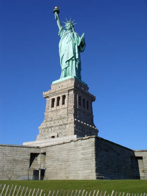 Statue Of Liberty Pedestal View statue of liberty pedestal nyc