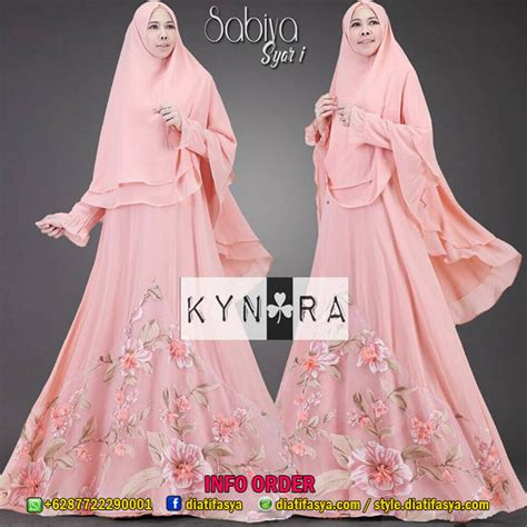 Sabiya Set by Dress Syar I Set Khimar Model Busui Friendly Edisi Sabiya