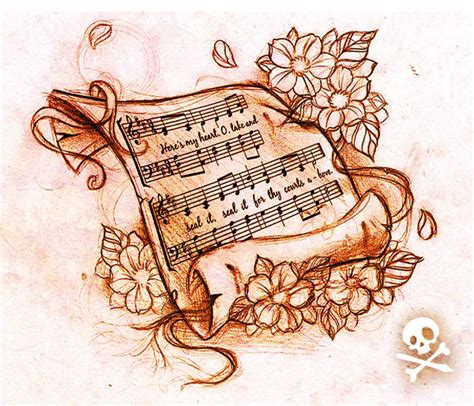 music sheet tattoo designs sketch sheet by willemxsm on deviantart