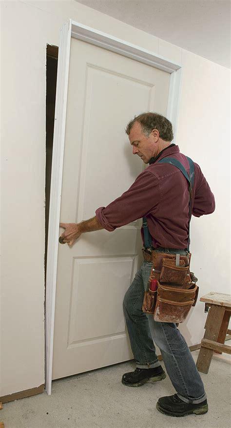 troubleshooting  prehung door installation fine