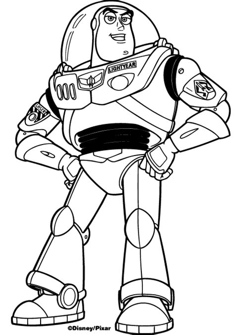 Buzz lightyear coloring pages to print   ColoringStar