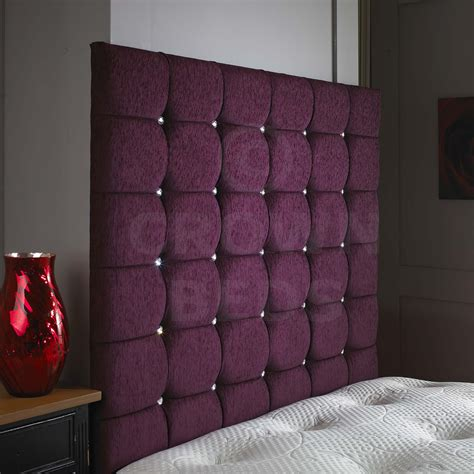 Purple Headboards by Beds 24hr