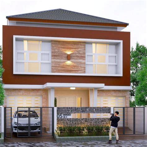 warna cat grill rumah desain rumah