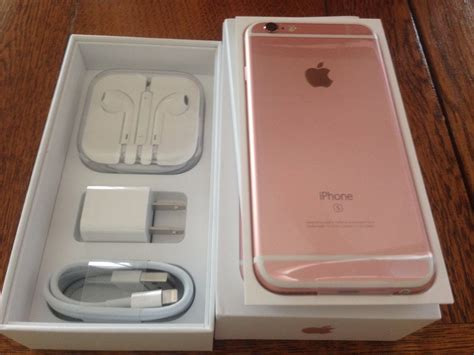 Iphone 6s 64gb Rosegold unboxing iphone 6s plus de 64gb gold mercado livre