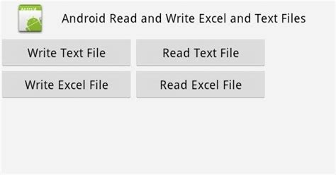 Android Tutorial Read File | android read write excel file using apache poi