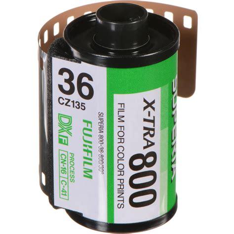 Roll Fujifilm Superia X Tra 800 Isi 24 Exp Fresh 2019 fujifilm fujicolor superia x tra 800 color negative 15696141 b h