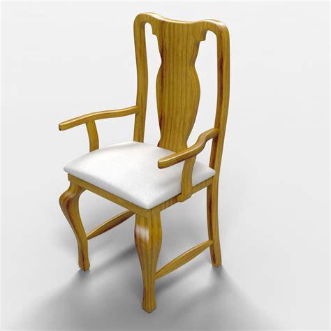 rustic armchair veracruz rustic armchair 3d model max cgtrader com